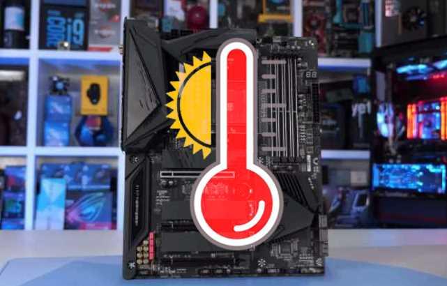 saber la temperatura de la placa base
