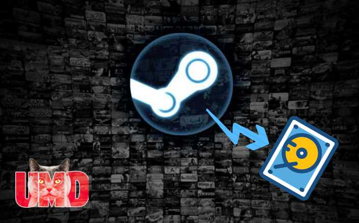 transferir un juego de Steam a otra unidad