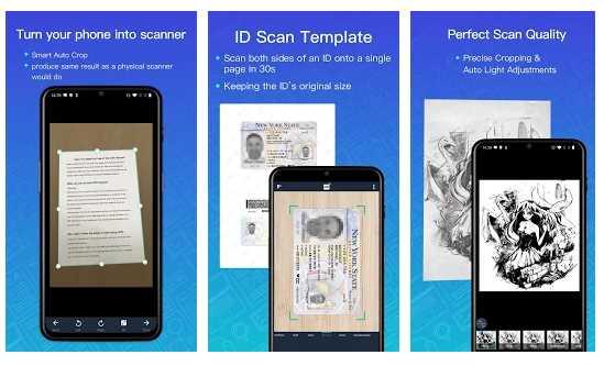 Escanear Documentos CamScanner Pro