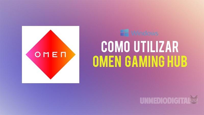 Utilizar Omen Gaming Hub