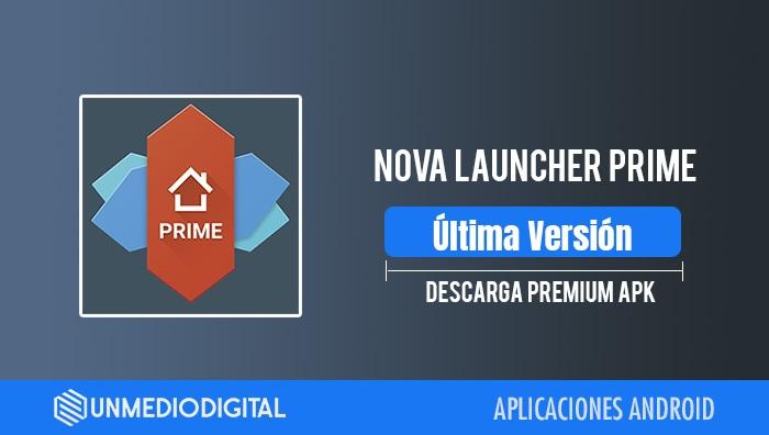 Nova Launcher Prime APK Android
