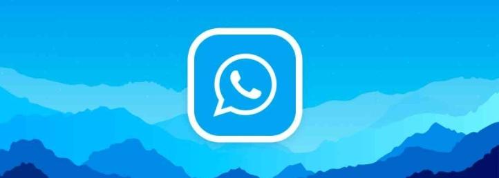 WhatsApp Plus Apk Azul 2021