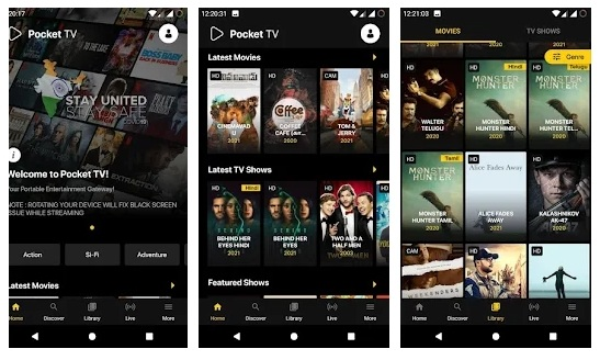 Pocket TV APK Download